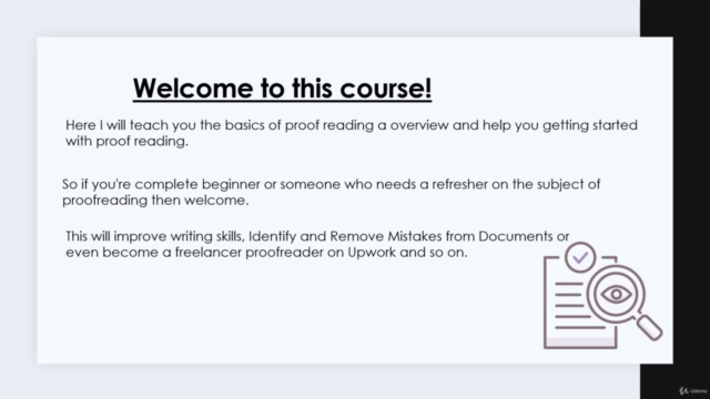 Proofreading overview, beginners guide