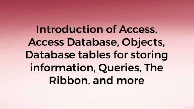 Access 2019 : The Microsoft Office Database Application