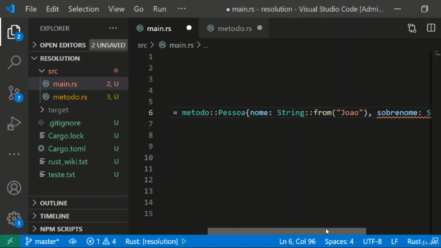Aprenda Rust do Zero com Exemplos de Computação - Módulo III