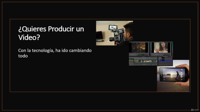 ¿Quieres producir un video?
