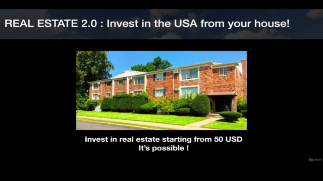 REAL ESTATE 2.0: Invest in the USA from your house!