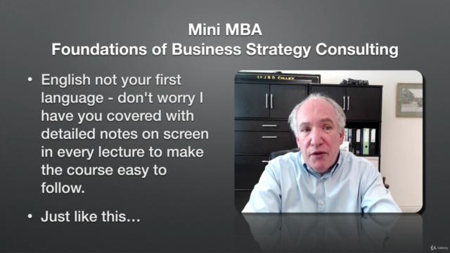 Mini MBA - Foundations of Business Strategy Consulting