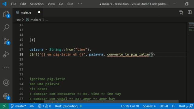 Programação Rust Aplicado: Exercícios 1