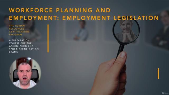 Employment Legislation (HRCI - PHR/SPHR)