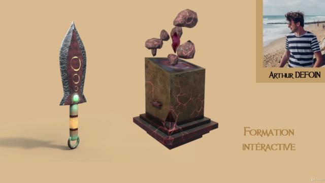 3D Modeling, Texturing, Game Asset : débutant à avancé !
