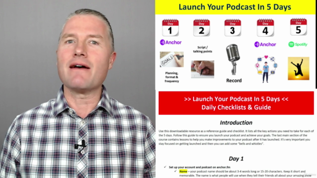 Launch A Podcast In 5 Days: A Beginners Guide To Podcasting