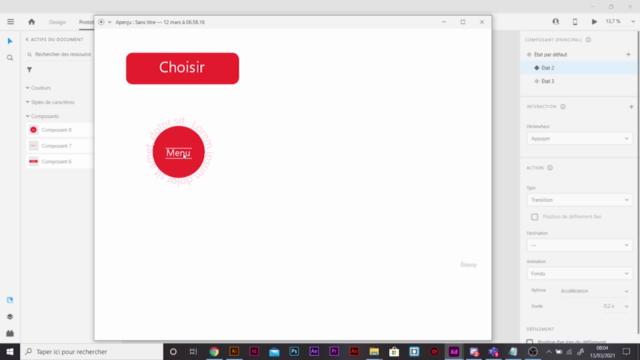 Apprendre à créer des composants Adobe XD