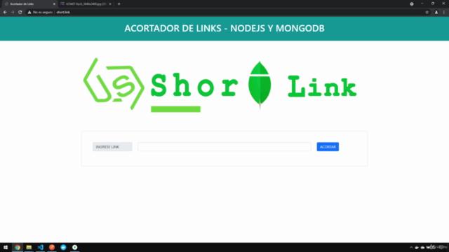 Acortador de Links con Nodejs y Mondgodb