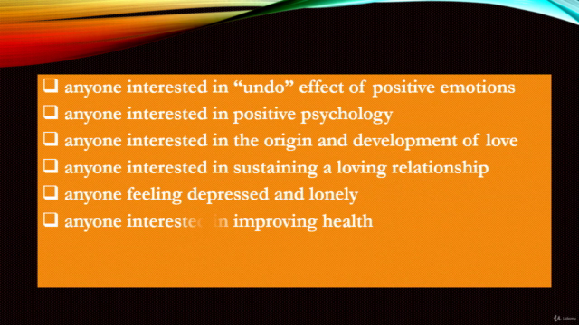 Post pandemic love. The undoing effect