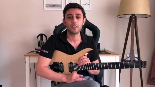 Modern Emprovize Teknikleri Vol. 1 (Gitar Dersi)
