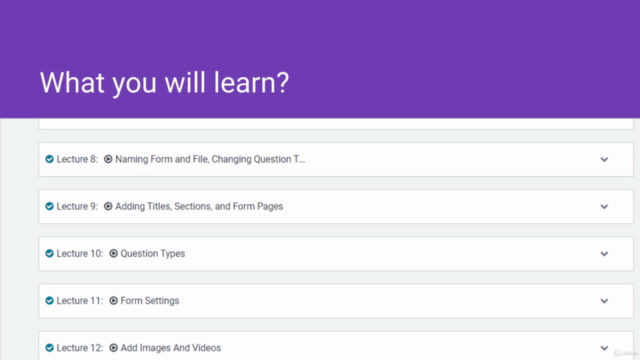 How to use Google Forms - Course for Beginners