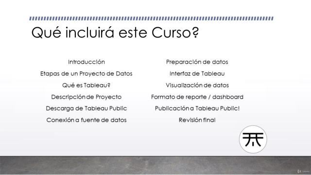 Crea y comparte Reportes con Tableau Public! INTENSIVO