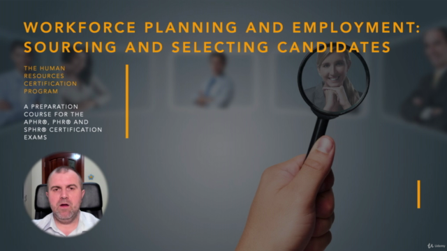 Sourcing and Selecting Candidates (HRCI - PHR/SPHR)