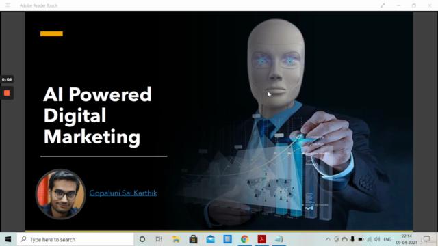 Artificial Intelligence Powered Digital Marketing