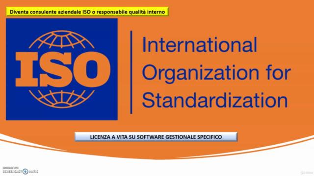 Gestione sistema qualità ISO 9001. Licenza a vita software