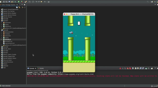 Game Development with PyGame  | Real World Games