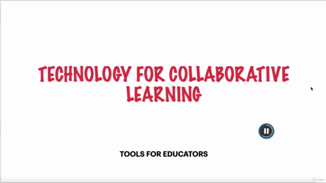 Technology for collaborative learning