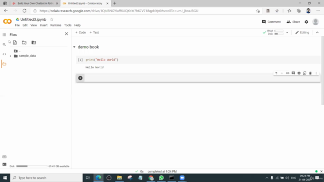 Build Your Own Chatbot in Python