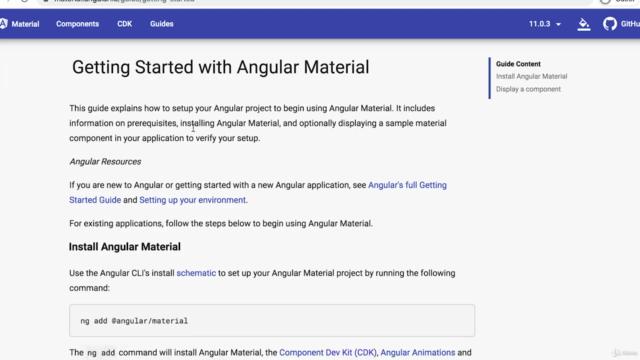 เริ่มต้นเขียนเว็บด้วย Angular 11 และ Firebase