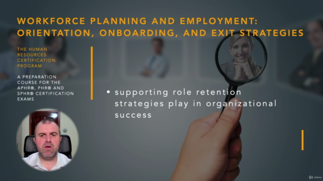 Orientation, Onboarding and Exit Strategies (HRCI -PHR/SPHR)