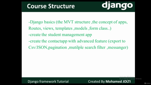 Django From The Basics to Build Large Apps and Rest APIs
