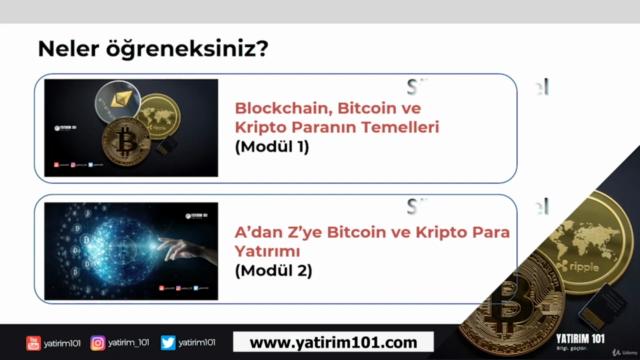 Blockchain, Bitcoin ve Kripto Paranın Temelleri (Modül 1)
