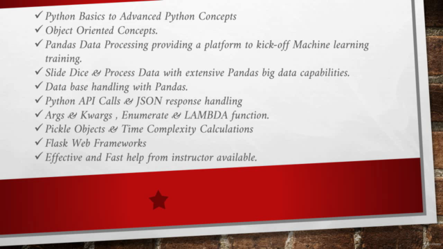 Fundamentals of Python Boot Camp 2021