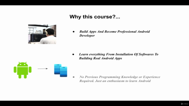 Android App Development Course For Beginners using Java