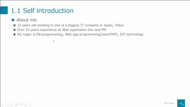 Database programming for intermediates