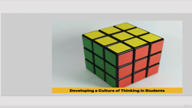 Developing a Culture of Thinking in Students