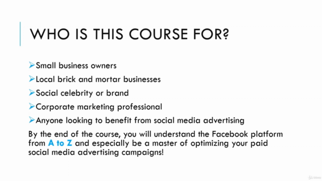 Facebook Ads & Facebook Marketing MASTERY 2021 | Coursenvy ®