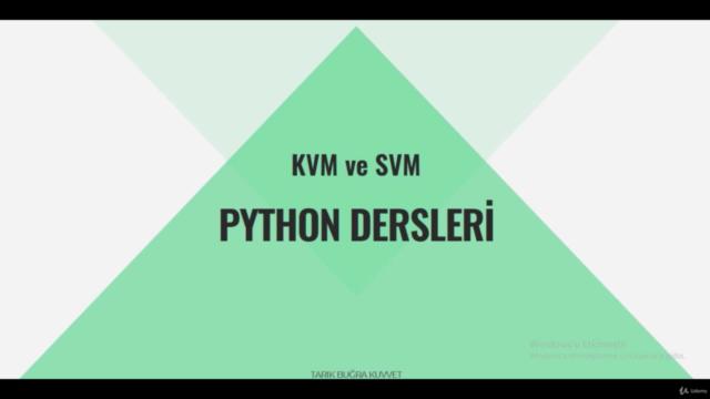 Sıfırdan Uygulamalı Temel Python Dersleri - SVM Yöntemi