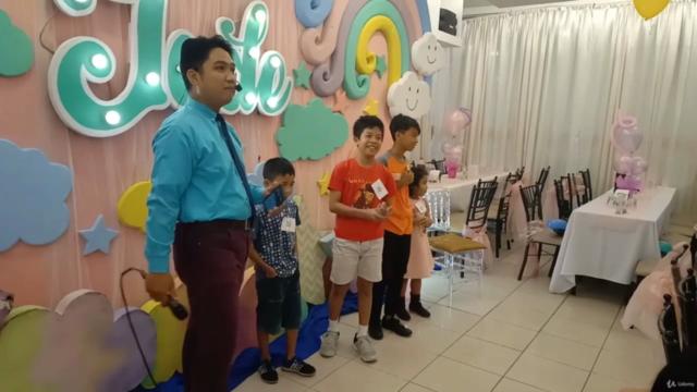 Children's Party Host Tutorial, Event Host for Kids