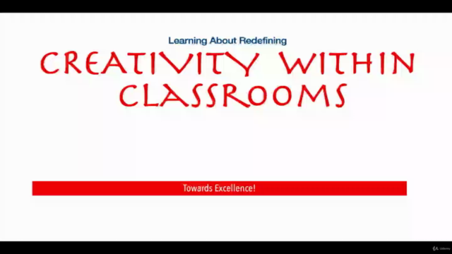 Learn about Redefining Creativity in Classrooms