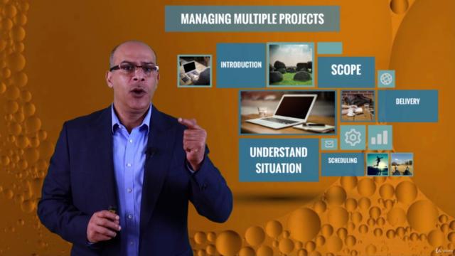 إدارة المشاريع المتعددة - المستوى المتقدم