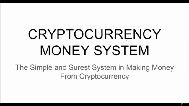 Cryptocurrency Money System