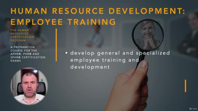 Employee Training (HRCI -PHR/SPHR)