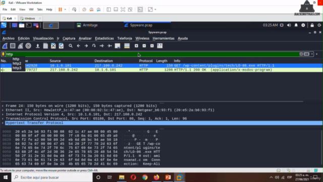 Hacking Ético 2021-2022: Curso de Wireshark Para Pentesting