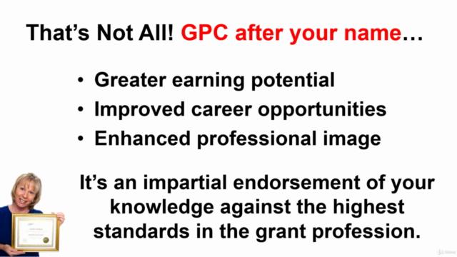 Grant Professional Certification (GPC) Exam Prep