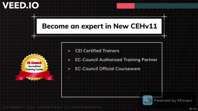 Certified Ethical Hacker CEHv11 Practice Exam NEW-2021