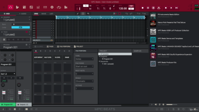 Making music with AKAI's MPK Mini & MPD 218 Controllers