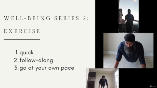 Well-being series - Making time for exercise & movement