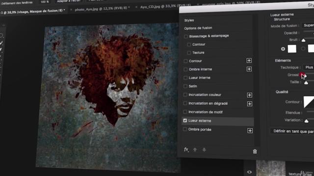 Photoshop cc 2021   Intermédiaire   Créations et outils