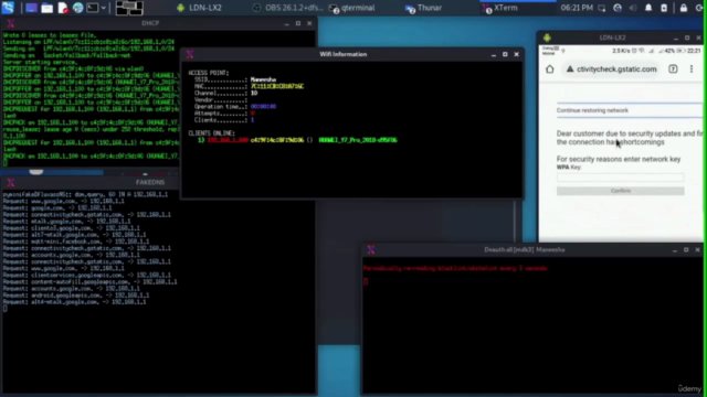 Complete WIFI Hacking Course With Powerful MITM Techniques
