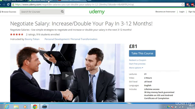 Negotiate Salary: Increase/Double Your Pay In 3-12 Months!