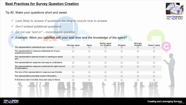 Creating and Leveraging Customer Surveys