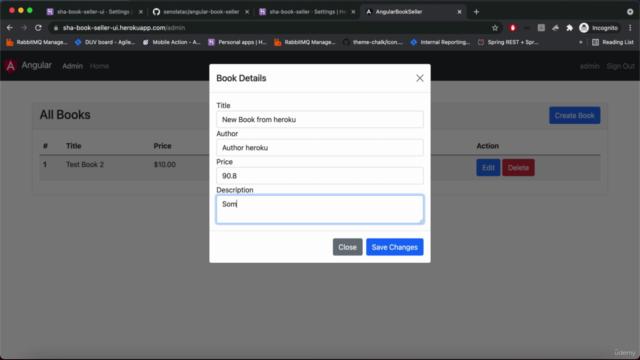 Angular ve Spring Boot ile Full Stack Uygulama Geliştirme
