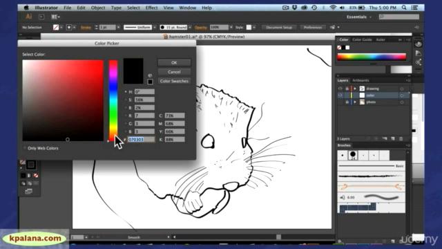 Adobe Illustrator: Create a Quick & Easy Unique Illustration