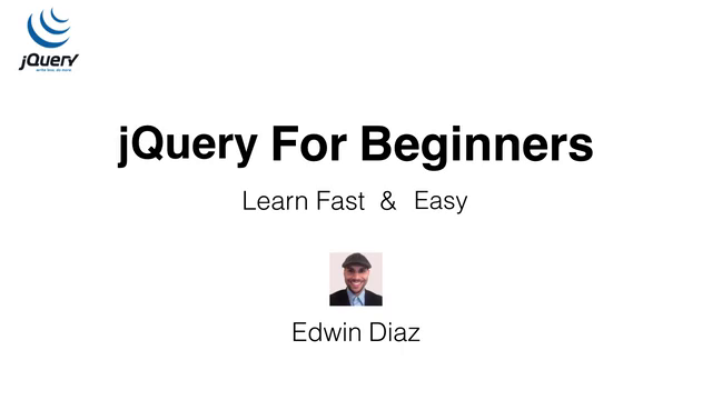 jQuery for Beginners - Create Website Animations Easily
