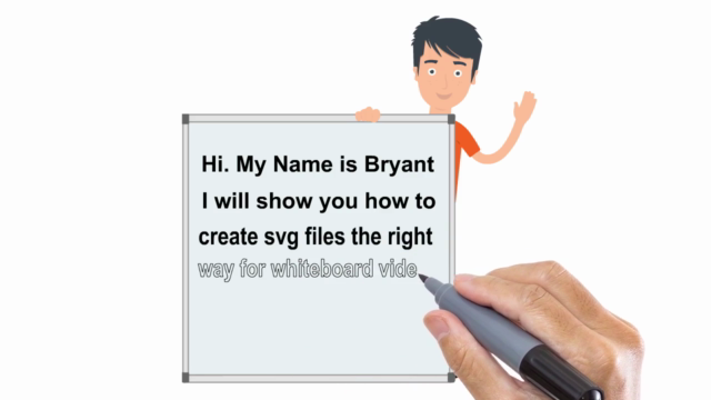 Creating SVG for Whiteboard Videos
